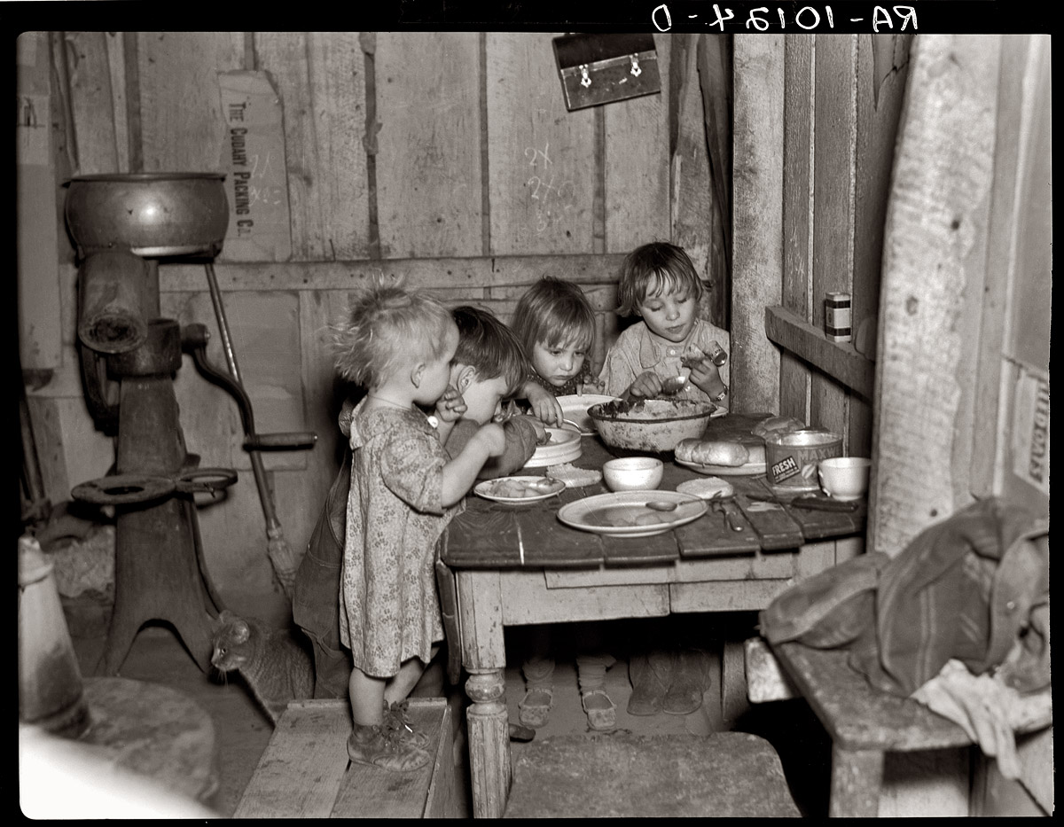 Image result for past pictures of how christmas was and the dinners of struggling families