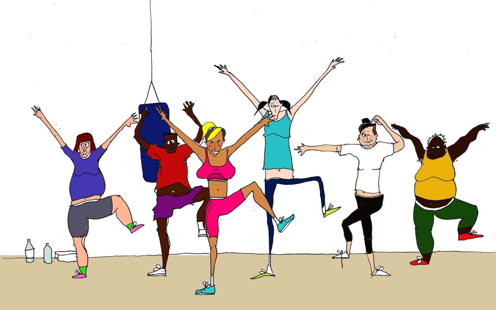 dance exercise clip art - photo #47