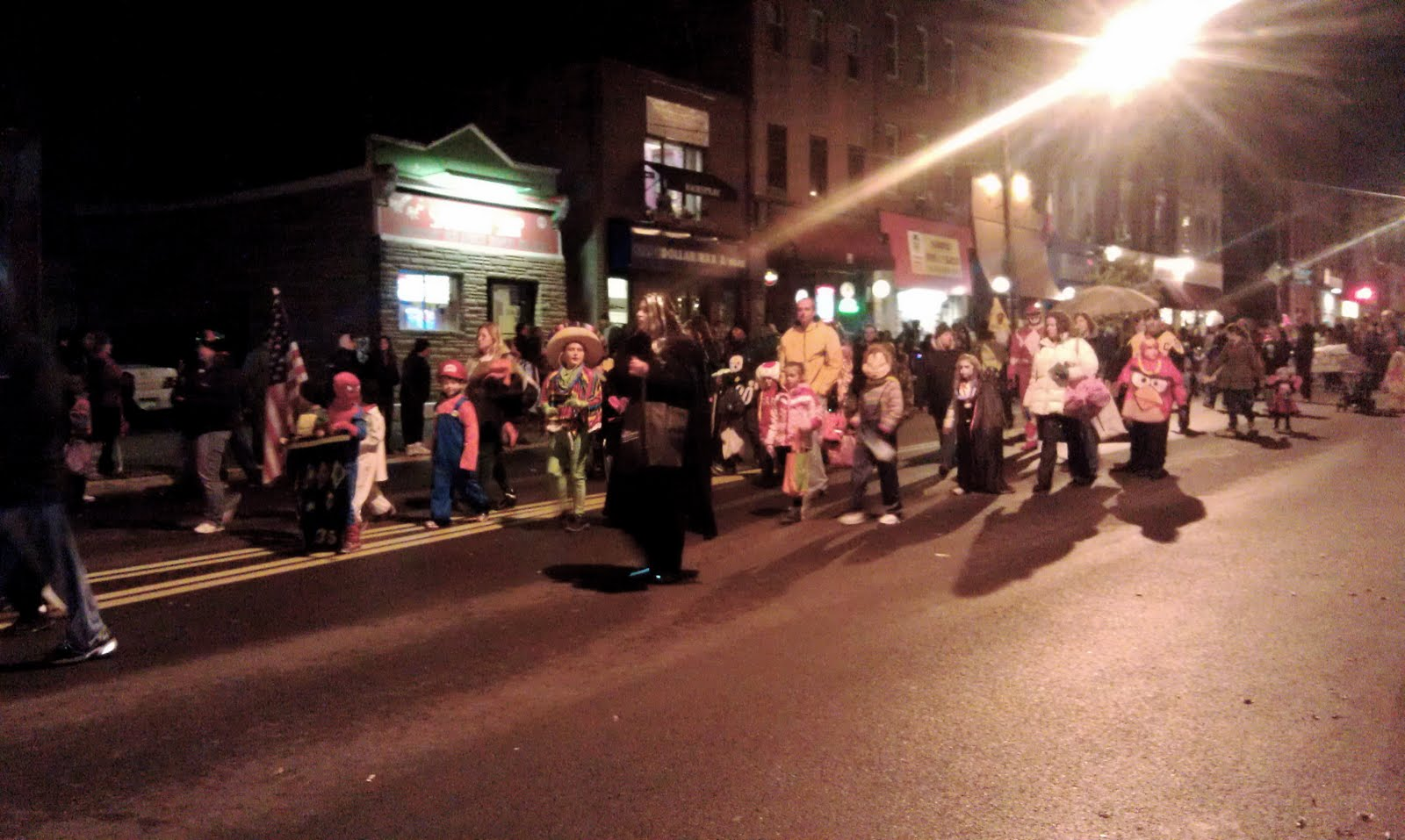 cheer on the phca and lungs face feet in the bloomfield halloween