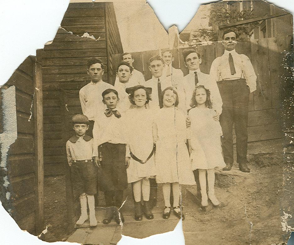 Mahoney family 1910s