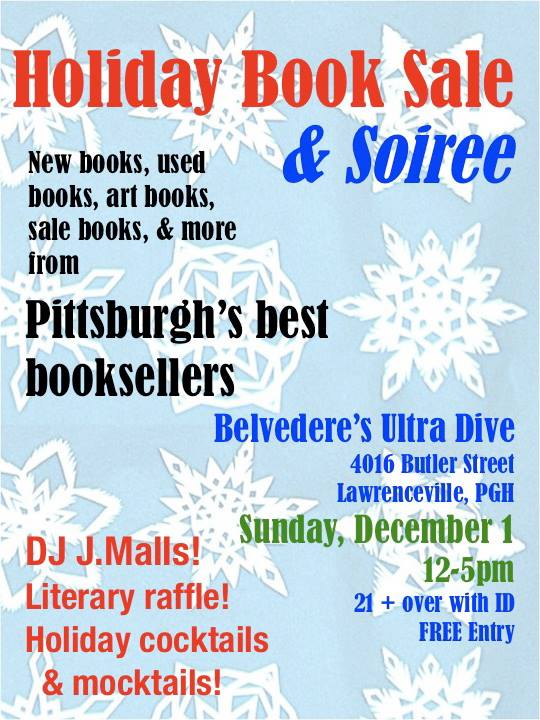 holiday book sale at belvederes